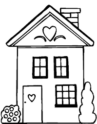 Small Picture People And Jobs Coloring Pages For Kids Houses Colouring Pages