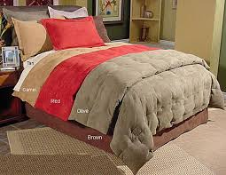microsuede camel twin down comforter set within and duvet cover remodel 10