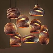 hanging lamp shades diy painted shade ideas