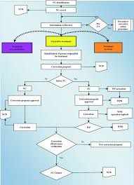 Control Of Nonconforming Product Flow Chart Non Conformity Management Process Flow Chart The Following