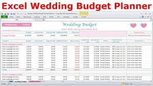 Sample Wedding Budget Spreadsheet Excel Wedding Budget Spreadsheet Wedding Expenses Tracker Wedding Cost Calculator