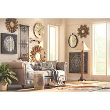 home decorators collection amaryllis 36 in square metal wall