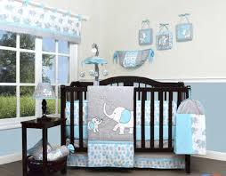 beds baby bedding pink elephant decor elephants piece crib set green sheet mint