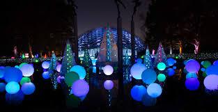 Botanical Gardens Nights Of Lights Garden Glow At Missouri Botanical Garden