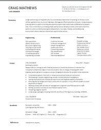 Resume For Engineering Mesmerizing Resume Samples Civil Engineering Students Fruityidea Resume