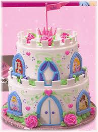 Cake Place Disney Princess Castle Birthday Cake