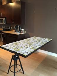 A Hideaway Dining Table Using Ikea Mirror Hackers And 6 Chairs Mi Hideaway Dining