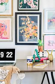 eclectic home office alison. Office Gallery Wall Two Ways Eclectic Home Alison