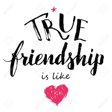True Friendship Is Like Love Hand Lettering And Calligraphy