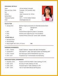 11 Resume Format For Job Pdf Soulhour Online