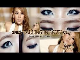 2ne1 falling in love cl inspired makeup tutorial