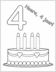 55 Beste Afbeeldingen Van Kleuters Kleurplaten Verjaardaggeboorte