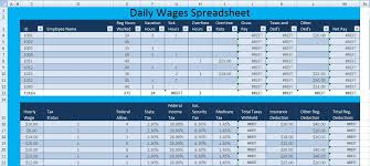 excel spreadsheet templates download download daily wages spreadsheet template excel excel spreadsheet