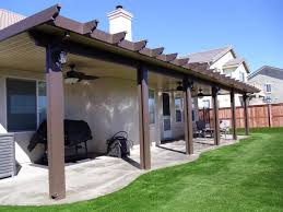 brown aluminum patio covers. Luster Cote, Inc. - Manufacturer Of Aluminum Awnings, Carports And Patio Covers Home Brown C