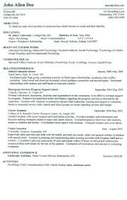 Resume For On Campus Jobs Resume For On Campus Jobs Resume For Study 1