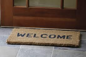 open door welcome mat  carehouseinfo
