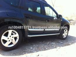 chrome side door molding cover trim for renault duster dacia duster