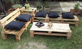 wooden pallet garden furniture. Pallet Garden Furniture Wooden V