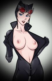 Nude cartoon cat women