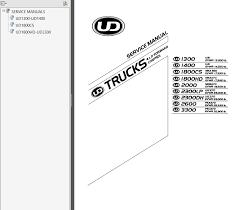 nissan ud trucks x forward control service manual pdf repair manual nissan ud trucks 4x2 forward control 2005 2007 service manual pdf