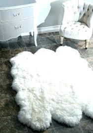 faux fur rug sheepskin white furry fuzzy target rugs pink fr