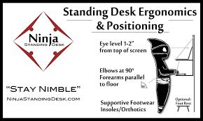 brilliant standing desk ergonomics nice ergonomic computer desk setup how to set up an ergonomically