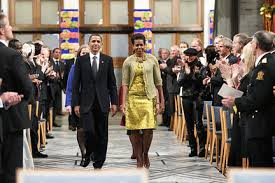 Image result for 2009 president obama nobel peace prize