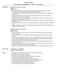 Resume Samples For Sales Manager Regional Sales Manager Resume Samples Velvet Jobs 6