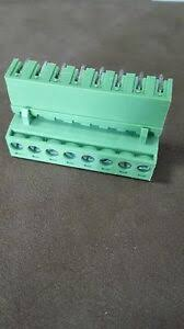 <b>5PCS 2EDG</b> 8Pin Plug-in Screw Terminal Block Connector <b>5.08mm</b> ...