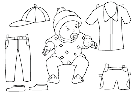 Doll Coloring Pages Paper Doll Coloring Page Paper Doll Coloring