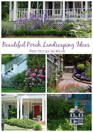 Backyard Landscape Designs Adorable Porch Landscaping Ideas For Your Front Yard And More