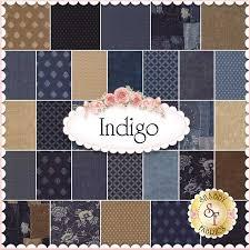 Indigo By Moda Fabrics - Charm Pack: Indigo by Moda Fabrics. 100 ... & Indigo By Moda Fabrics - Charm Pack: Indigo by Moda Fabrics. 100% Cotton.  This charm pack contains 42 squares, each measuring 5