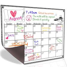 Daily Picture Calendar 2019 Yearly Monthly Daily Calendar Dry Erase Drawing Planer Board For Fridge Buy Calendar Dry Eraser Board Fridge Magnetic White Board Fridge