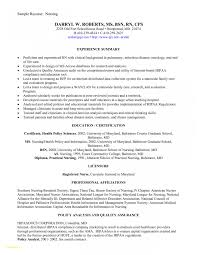 Sample Nurse Resume Awesome Sample New Grad Nurse Resume Sample New Grad Nurse Resume 66