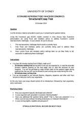 econ intro macro university of sydney page course 1 pages structured essay test 2014