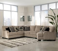 Living Room Furniture Indianapolis Katisha Platinum 4 Piece Sectional Sofa With Right Cuddler By