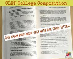 excellent ideas for creating clep essay topics study guide for the college composition clep