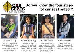 The Four Stages Of Car Seat Safety Car Seats For The Littles