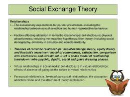 social exchange theory essay outline one theory of the maintenance of relationships the social custom writing services