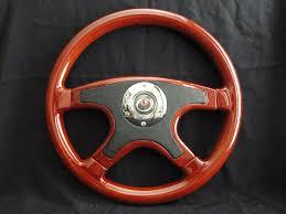 raptor steering wheels 15 wood black front leather steering wheel silver or gold