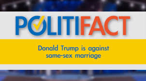 donald trump is against same sex marriage new york donald trump is against same sex marriage