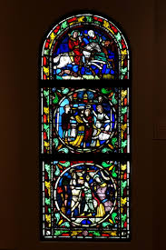 file stained glass window with the parable of the prodigal son france c