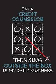 By Design Credit Counseling Im A Credit Counselor Thinking Outside The Box Blank