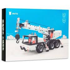 Купить <b>Конструктор Xiaomi Mitu</b> Building Blocks Mobile Crane ...