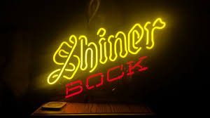 Shiner Neon Light Shiner Bock Collectors Weekly