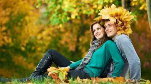 Beautiful Romantic Couple in Garden 4K ...