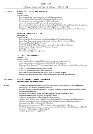 Data Visualization Resume Examples Data Analytics Intern Resume Samples Velvet Jobs 10