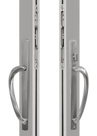 finish choices are available in brushed nickel or black the premium handle is not available on pocketing multi slide door systems