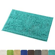 Amazon.com: Mayshine Non-Slip Bathroom Rug Shag Shower Mat Machine ...