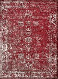 Red Rugs For Kitchen Amazoncom Traditional 8 Feet By 10 Feet 8 X 10 Sofia